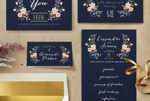 RSVP / You're invited - wedding invitations and save the date ideas!