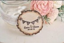 Wood Slices : Inspire / Rustic wooden slices...