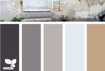 Colour Palettes / Inspiring colour palettes...