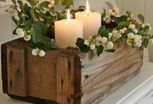 Centrepiece: Inspire / Gorgeous centrepieces and candles...