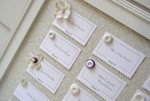 Seating Placename : Inspire / Place name and seating plan ideas for weddings and parties...