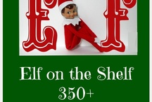 """Elf on the Shelf / A collaborative pin board for friends and fans of busykidshappymom.org.  Please double check for duplicates and keep it G rated.  """"Happy ELFing"""" and Merry Christmas! / by Kristen Mason"""