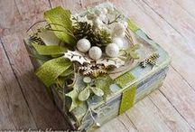 Enwraptured / Lovely ideas for gift-wrapping little somethings. / by Jane Corbett