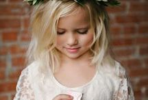 Style: Flower Girls / Beautiful dress ideas for your special flower girl!