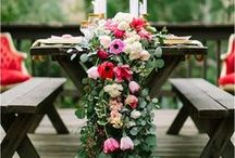 Outdoor Wedding Ideas / Spring and summer celebrations!
