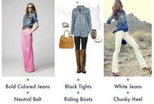 wardrobe reconstruction / Clothes, clothes, clothes!!  / by Noriko Staton