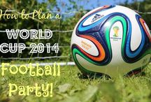 Football Party Planning / Awesome World Cup & Euros Football Party Ideas