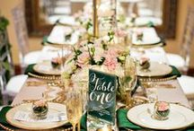 Dream in Sequins / Shine bright with sequin tablecloths and sparkling event decor!