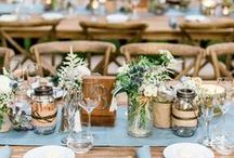 Rustic Weddings / Burlap and lace? Yes, please! Charming details for the wedding of your dreams!
