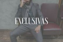 Exclusivas / Nuestras colaboraciones con fotógrafos, estilistas y modelos de todo el mundo, en exclusiva.