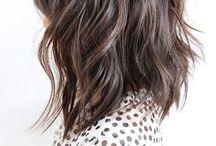 Hair / Mostly medium length lobs, bobs, and textured hair.  / by Sleepy King