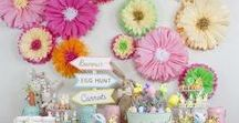 Holiday: Easter / Decor inspiration and DIY projects for the perfect Easter Sunday brunch with the family!