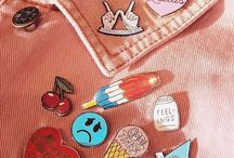 pins & patches.