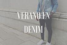 Verano en denim / La inspiración que necesitas para llevar el denim como nunca esta temporada: jeans skinny, camisas o trajes para verte más cool que nunca