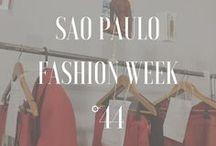 Sao Paulo Fashion Week - Edición 44 / Lo mejor sobre la semana de la moda de Sao Paulo en Brasil, somo parte de su edición No. 44