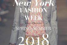 New York Fashion Week - Spring-Summer 2018 / Las pasarelas y colecciones de la semana de la moda en la Gran Manzana están aquí