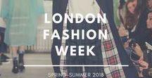 London Fashion Week - Spring-Summer 2018 / Los mejores desfiles de la semana de la moda de Londres en su edición Spring-Summer 2018