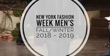 New York Fashion Week Men's Fall-Winter 2018/19 / Los desfiles y presentaciones en la semana de la moda de Nueva York