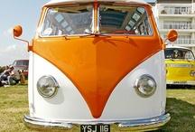 VW Camper Vans / VW camper vans make me smile :) / by Rachael Maytum