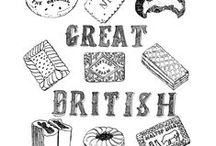 I'm British by Design / Its a way to remind myself where home really is ....