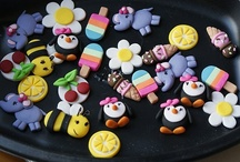 Polymer clay ideas for Hailey