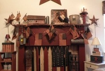 i (heart) PRIM / primitive country decorating and craft idea