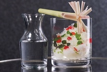 < ALCOHOLIC DESSERTS > / { Alcoholic desserts + molecular mixology }