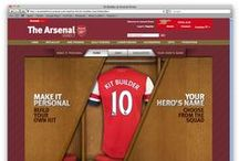 Arsenal FC Kitbuilder / Award nominated solution for Arsenal FC http://www.weclickmedia.com/kit-room.php