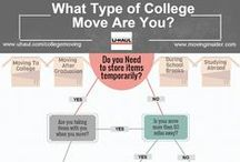 College Moving / If you are moving to college, or have a close friend or family member who is moving to college, then this board will help prepare you for the journey ahead. / by U-Haul Co