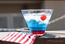 My Patriotic Cocktails & Shooters ~ A Year Of Cocktails