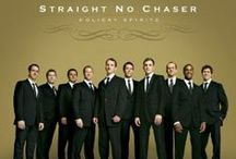 """Straight No Chaser / If the phrase """"male a cappella group"""" conjures up an image of students in blue blazers, ties, and khakis singing traditional college songs on ivied campuses… think again. SNC are neither strait-laced nor straight-faced, but neither are they vaudeville-style kitsch. The album features contributions from superstars Jason Mraz, Rob Thomas, Phil Collins, Dolly Parton and more!"""