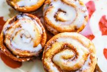 Just Cinnamon Roll and Fritter Recipes