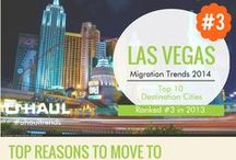 Las Vegas, NV / In 2014 Las Vegas was the 3rd most moved to city in the United States according to the Migration Report. Find out more about this city and its culture. / by U-Haul Co
