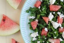 Food - Salads / Whether they're the main event or a side dish, salads are perfect for the warmer weather