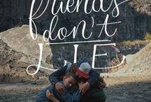 Stranger Things / friends don't lie