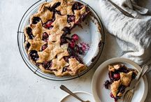 pies, tarts + sweets with a crust