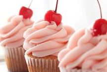 Cupcakes! / Our Cherry Cupcake Print is a bestseller! Here's some sweet cupcake inspiration.