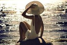 """Happiness / """"The most important thing is to enjoy your life - to be happy - it's all that matters."""" - Audrey Hepburn"""