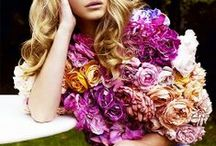 Fall Florals / Lush fall colors and the prints they inspired.