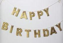 Birthdays!  / by Sarah Gott