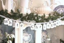 A White Christmas... / Inspiration for a calm white decor during the holidays. / by Carole Coplen