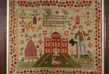 Vintage Embroidery Samplers / by Dabs