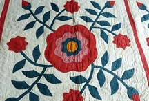 Vintage, Civil War , Baltimore Quilts / by Dabs