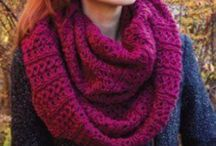 Knitted Scarves, Cowls, Infinity Scarves, Gloves & Hats