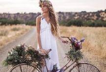 ▲ BRIDEZILLA ▲ / Boho bride and wedding inspiration. Idées mariage folk et bohème