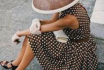 Polka Dot Style / Timeless polka dot prints.
