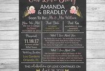 Bridal Shower and Wedding
