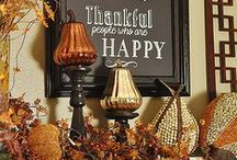 Thanksgiving Table / Tablescapes, decor, and deliciousness for the consummate fall hostess.