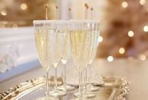 Celebration / A love of parties and a touch of sparkle...don't forget the champagne!