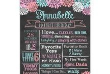 Floral Birthday Party / Floral First Birthday Party Ideas